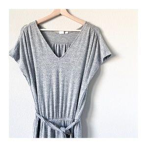 LIKE NEW | Gap | Soft Knit Gray Jumpsuit